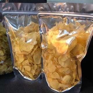 Homemade Potato Chips Supplier Salted Egg
