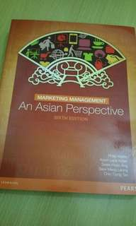 Marketing Management An Asian Perseptic Textbook