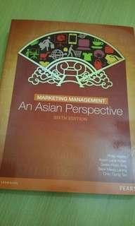Marketing Management An Asian Perseptic Textbook