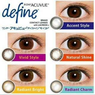 👀1-Day Acuvue Define 動人啡con👀
