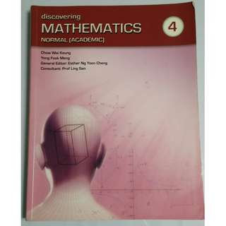 Discovering Mathematics - 4  N(A)