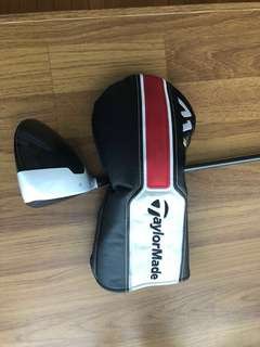 M1 Taylormade Driver with FREE glove head cover:EXCELLENT CONDITION