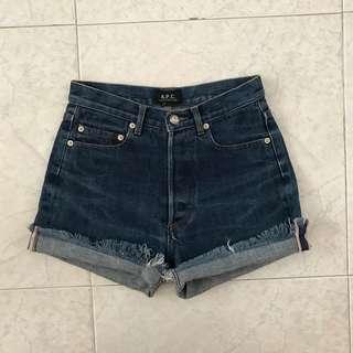 🆕 APC VTG Denim Highwaisted Shorts