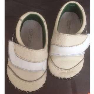 Little Blue Lamb Infant Boys Leather Shoes
