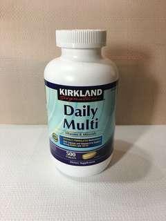 Kirkland Daily Multi Vitamins and Minerals