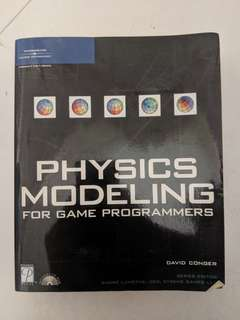 Physics modelling for game programmers