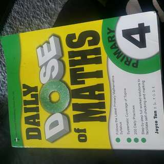Primary 4 Daily Dose Maths Exercise Book