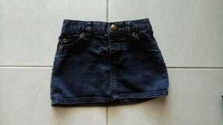Rok sepan jeans