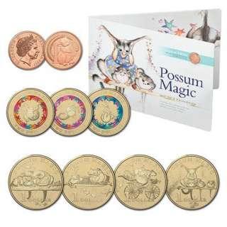 澳洲紀念幣 2017 Possum Magic