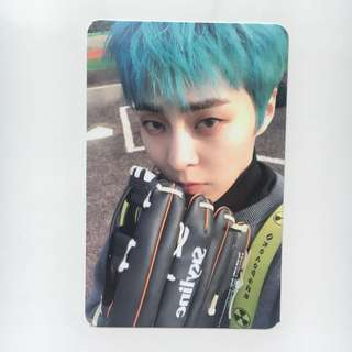CBX blooming days Xiumin D photocard