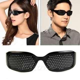 🚚 Effective Anti-fatigue Pinhole Glasses Vision Improve Eyesight Health Care Eyewear