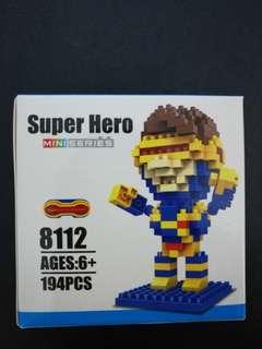 X-men's Cyclops Nano Block Super Hero Mini Building Toy