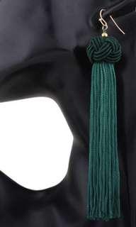 Green Rope Tassle