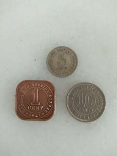 Old Coins - Malaya and British Borneo