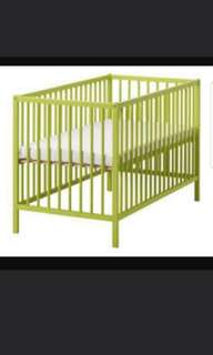 Ikea baby cot with free mattress