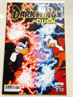 Disney's Darkwing Duck comic Issue#7 Cover A