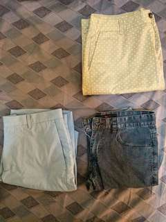 Mens shorts( forever 21& uniqlo