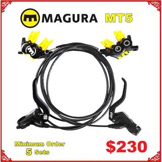 Magura MT5 Disc Brake wholesale Minimum Order 5 Sets Limited Time --------  (Magura MT2 MT4 MT5 MT5e MT6 MT7 MT8 M9020 M8020 M8000 M785 M7000 M315 ) DYU