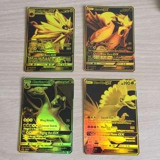 Pokemon TCG Black Gold Holo CUSTOMS