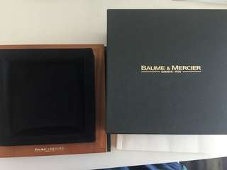 Baume & Mercier watch Box 明仕錶盒