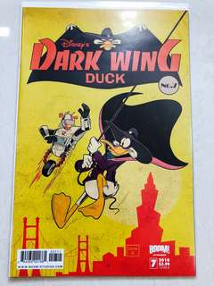 Disney's Darkwing Duck comic Issue#7 Cover B