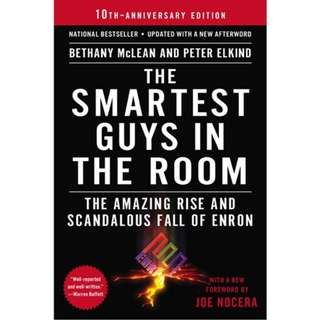 Ebook The Smartest Guys in the Room The Amazing Rise and Scandalous Fall of Enron by bethany mclean and peter elkind