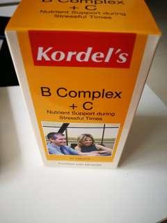 Kordel's B Complex +C