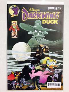 Disney's Darkwing Duck comic Issue#8 Cover B