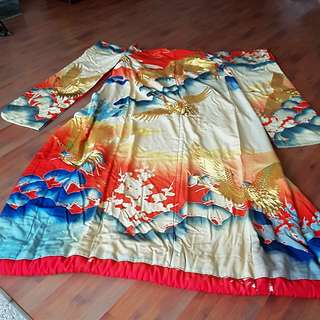 Kimono to recycle for art & fashion design