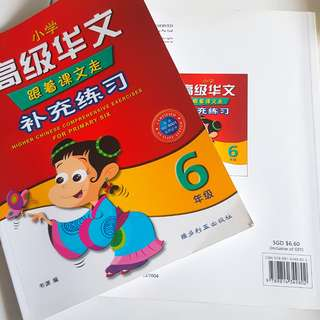 P6 Higher Chinese Assessment book