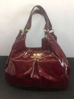 Coach Maroon Handbag (postage included)