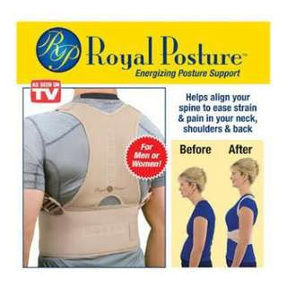 NEW! UNISEX ROYAL POSTURE ( BN/ PREORDER)