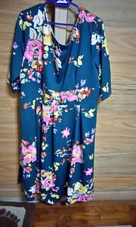 Plus Size Floral Dress UK 24 to 28