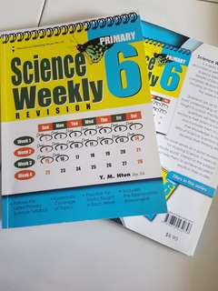 P6 PSLE Science Weekly assessment book
