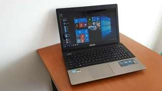 Laptop Gaming Desain Notebook Bekas Asus K55VD Core i5-3230M Intel HD 4000 Nvidia GT 610M 2GB LED 15.6 HD