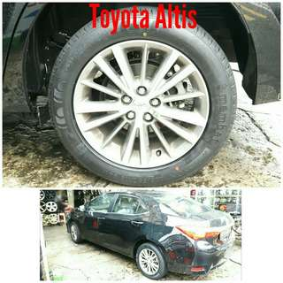 Tyre 205/55 R15 Membat on Toyota Altis 🐕 Super Offer 🙋‍♂️