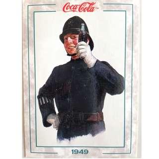 1994 Coca Cola Series 2 Base Card #198 - Original Art - 1949