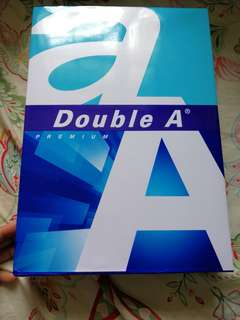Double A A4 paper
