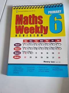 PSLE P6 Maths Weekly