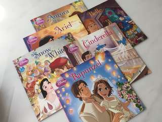 Disney's Princess story books (6 books)