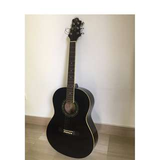 Greg Bennet guitar with free case