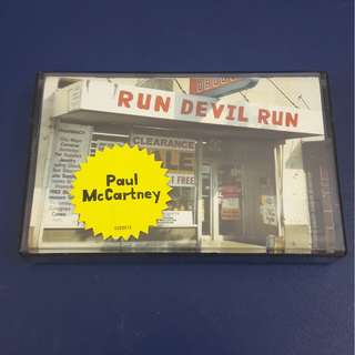 Cassette - Paul McCartney: Run Devil Run