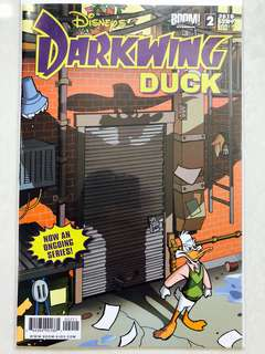 Disney's Darkwing Duck comic Issue#2 Cover B