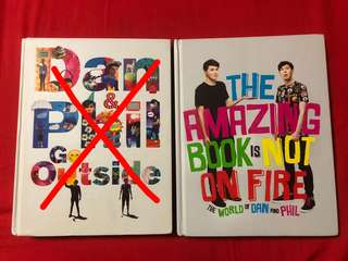 [WTS] Dan & Phil Go Outside / The Amazing Book Is Not On Fire