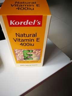 Kordel's Natural Vitamin E 400iu