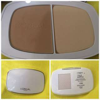 Loreal True Match Perfecting Powder Foundation in Gold Ivory