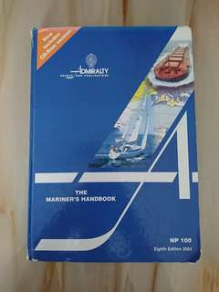 Mariners' Handbook NP 100 eighth edition