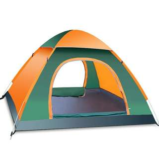(Automatic Open)3-4 People Outdoor Camping Tent Package Portable Tent