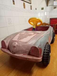 Antique paddle car 80s