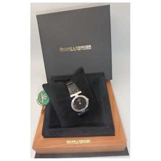 Baume & Mercier 名仕 18k 白金 上鍊女裝錶 w/ paper & plastic tag and Box